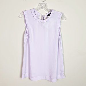 J.Crew | lilac sleeveless blouse size 10